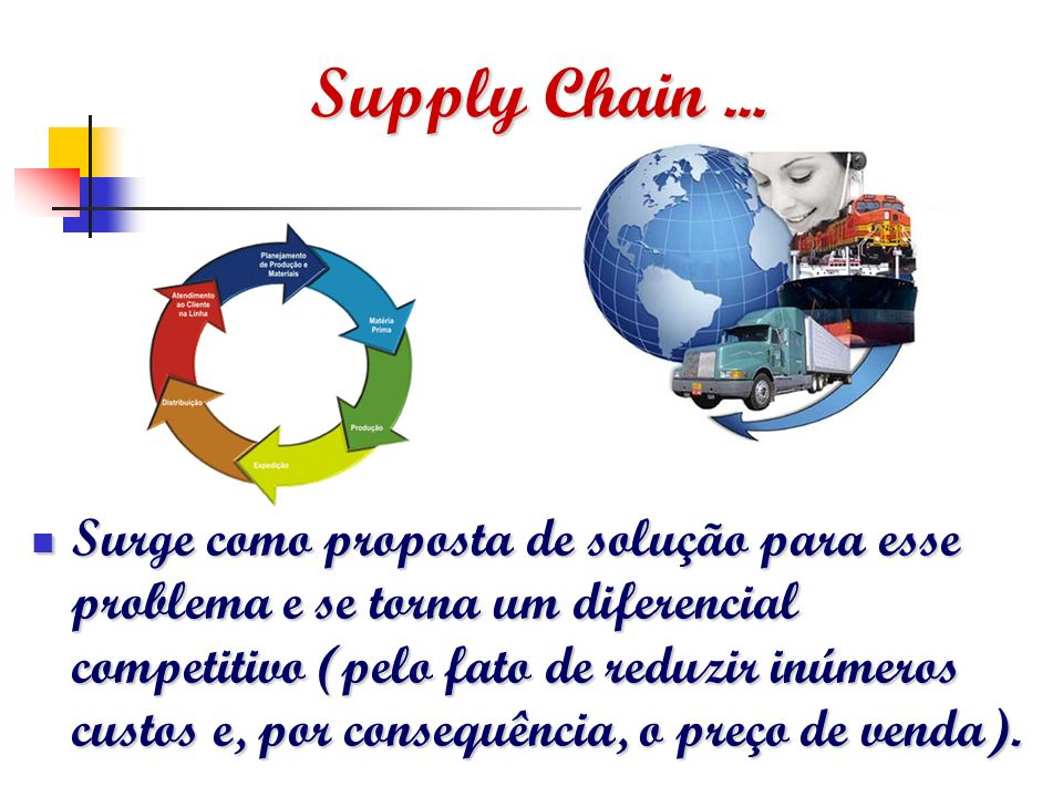 Supply Chain ...