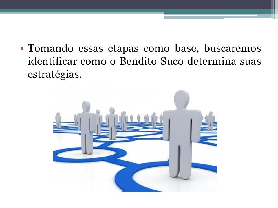 Tomando essas etapas como base, buscaremos identificar como o Bendito Suco determina suas estratégias.