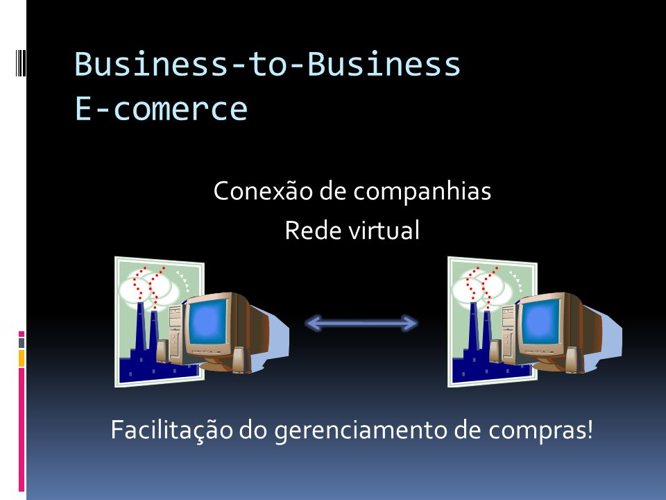 Business-to-Business E-comerce