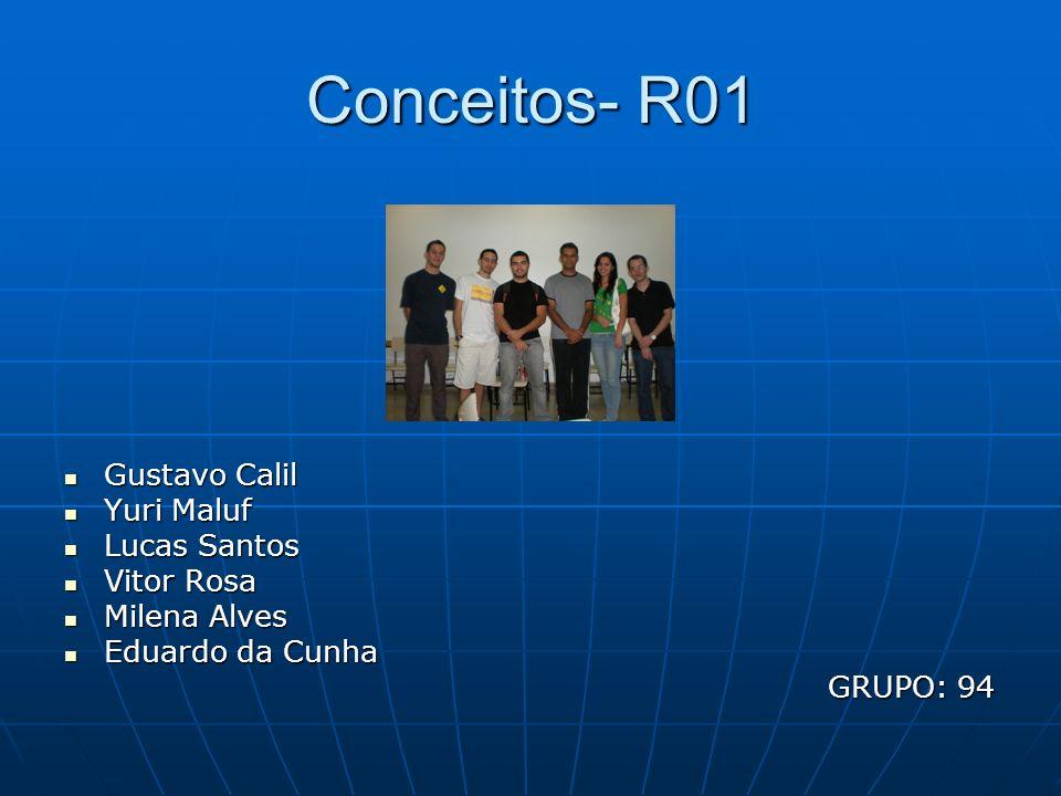 Conceitos- R01 Gustavo Calil Yuri Maluf Lucas Santos Vitor Rosa