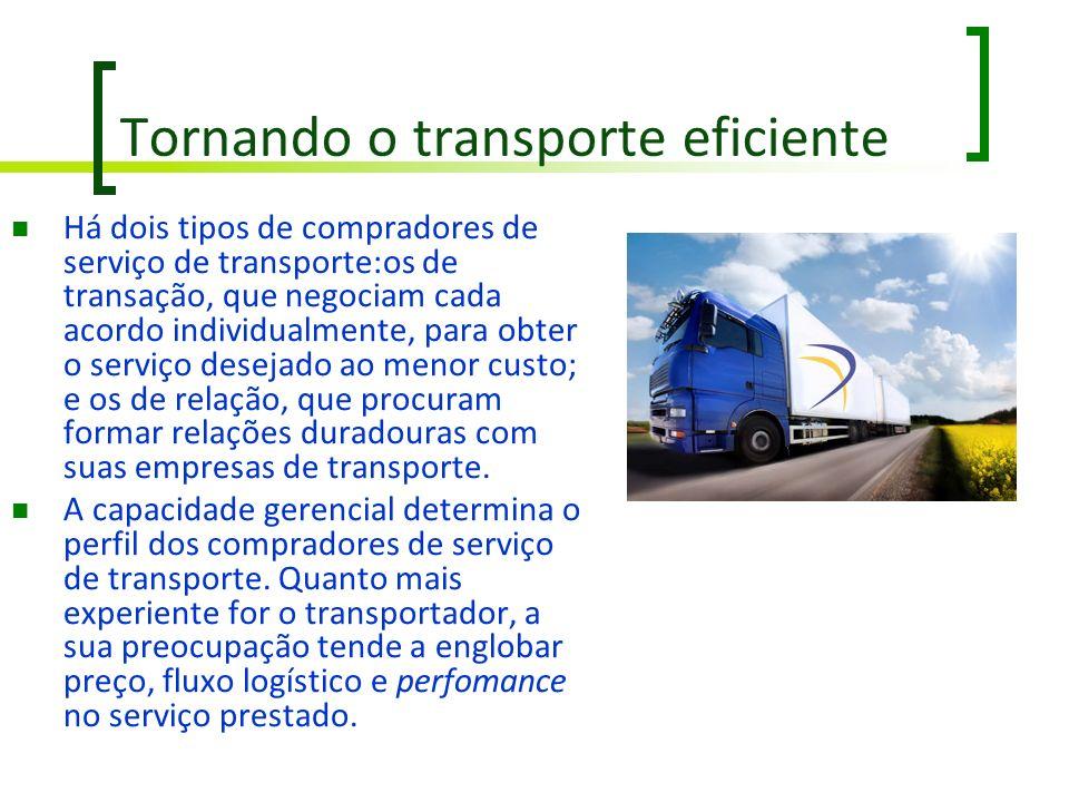 Tornando o transporte eficiente