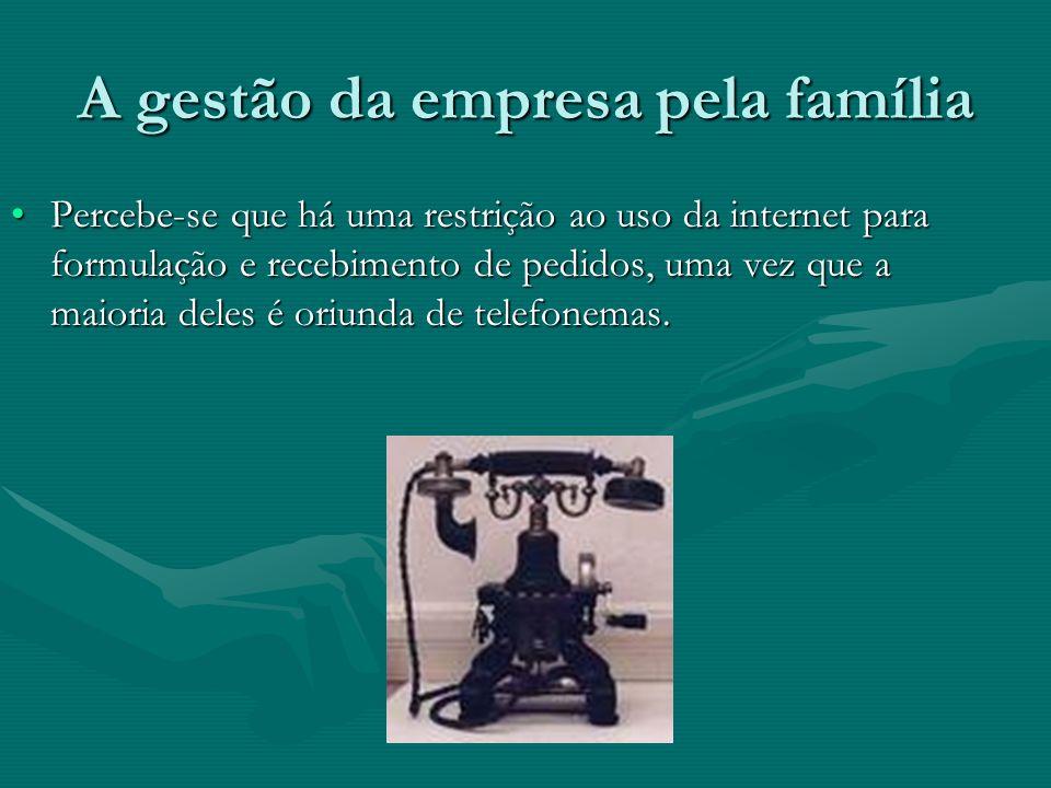 A gestão da empresa pela família