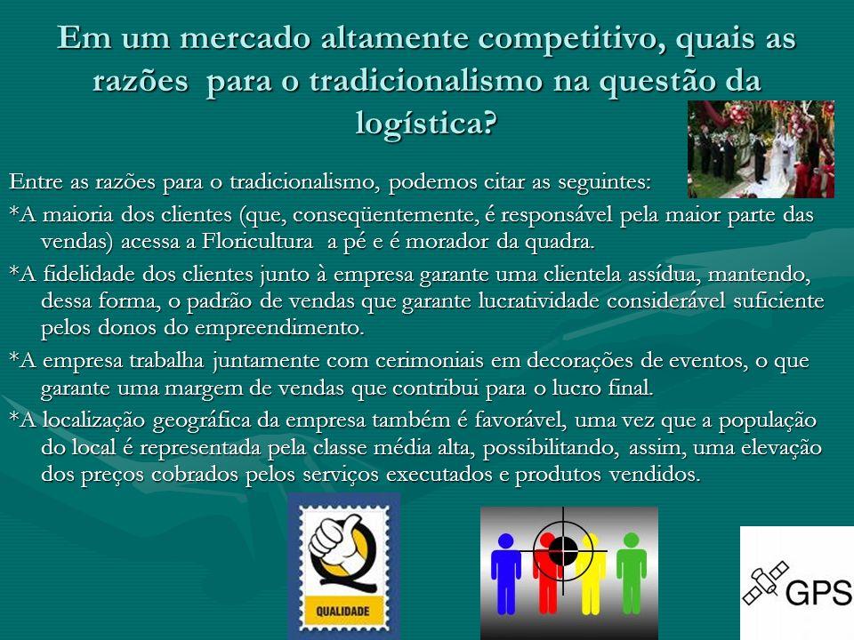 Em um mercado altamente competitivo, quais as razões para o tradicionalismo na questão da logística