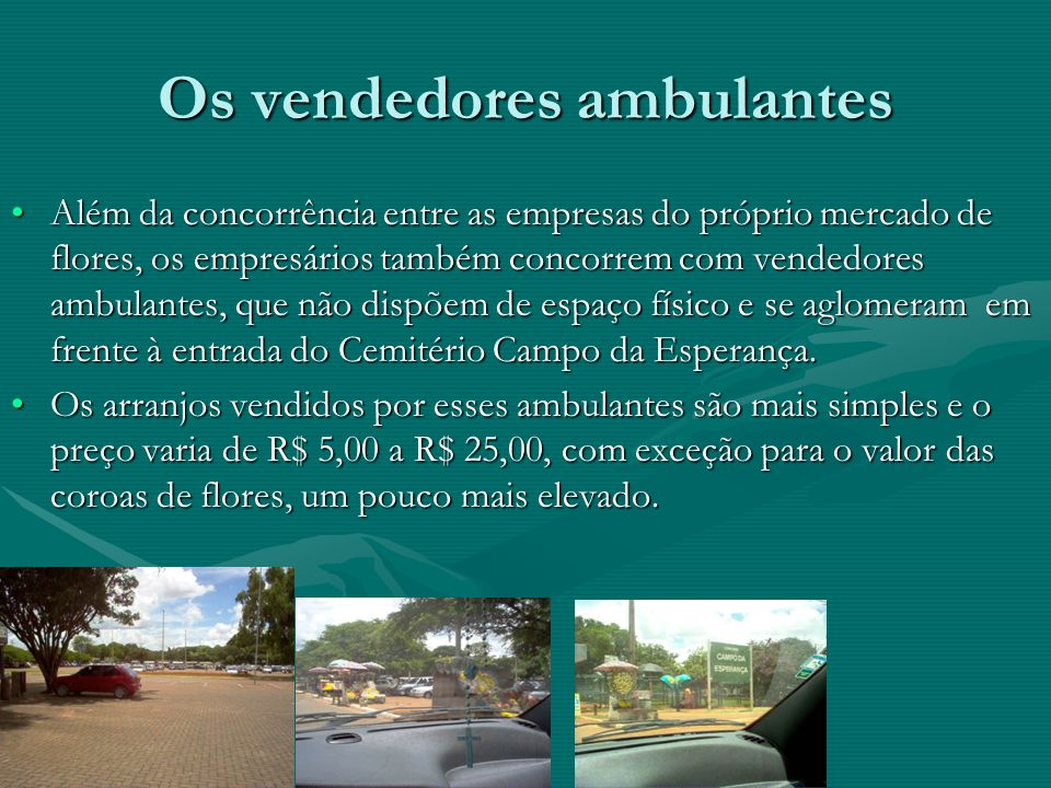 Os vendedores ambulantes