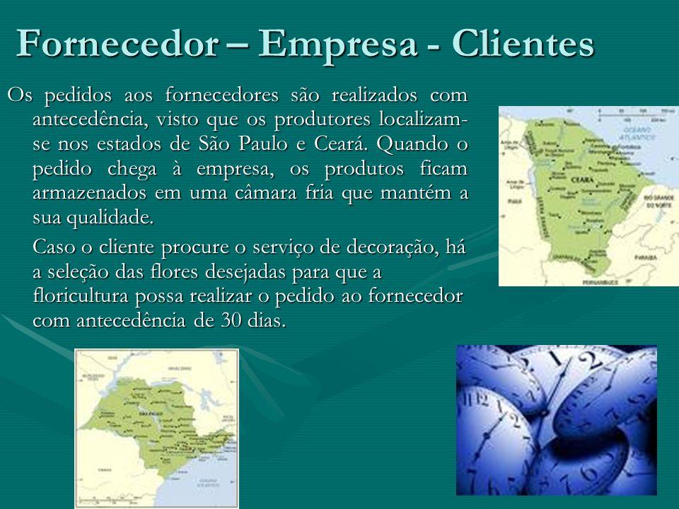 Fornecedor – Empresa - Clientes
