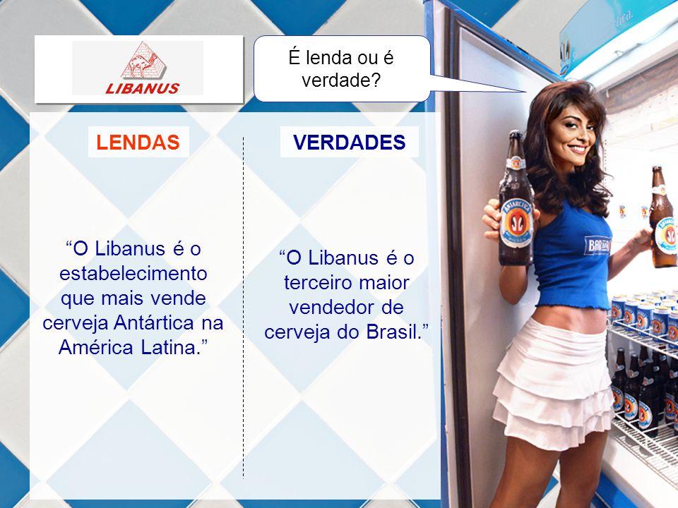 O Libanus é o terceiro maior vendedor de cerveja do Brasil.