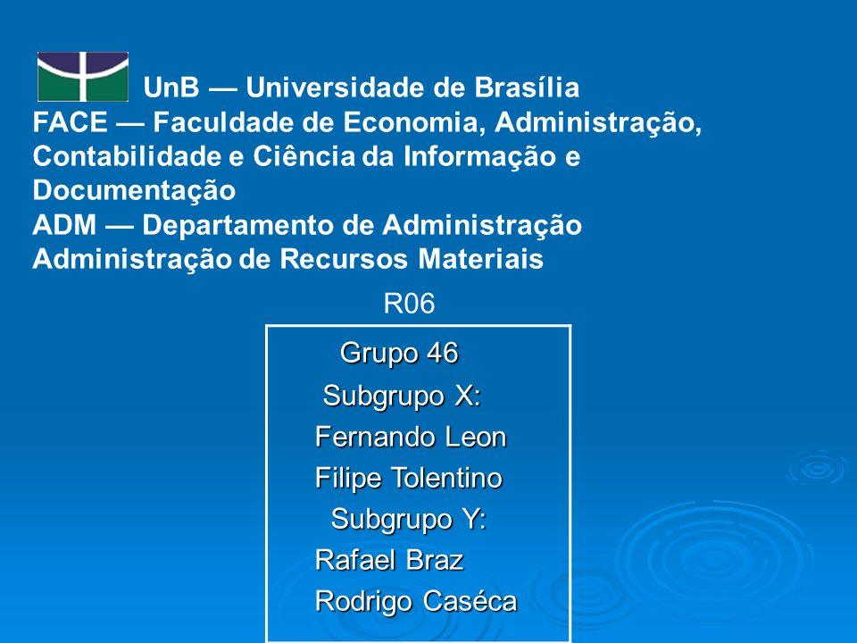Grupo 46 UnB — Universidade de Brasília