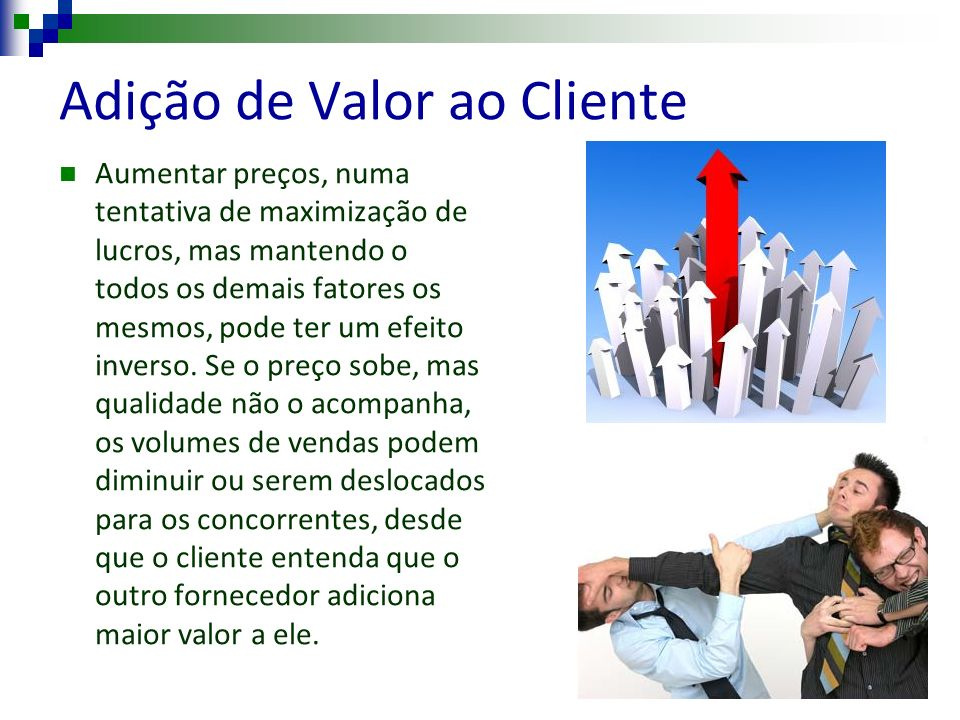 Adição de Valor ao Cliente