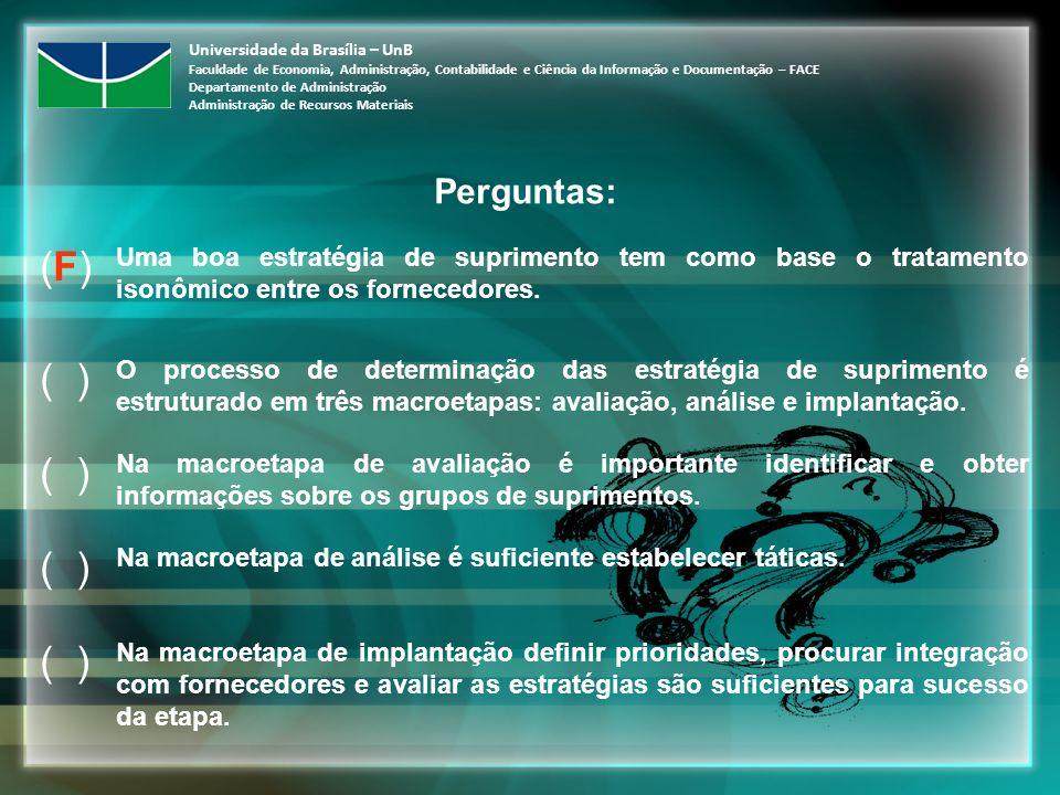 Universidade da Brasília – UnB