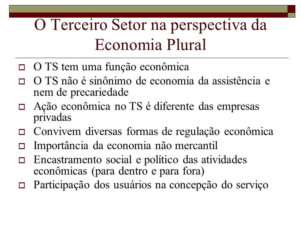 O Terceiro Setor na perspectiva da Economia Plural