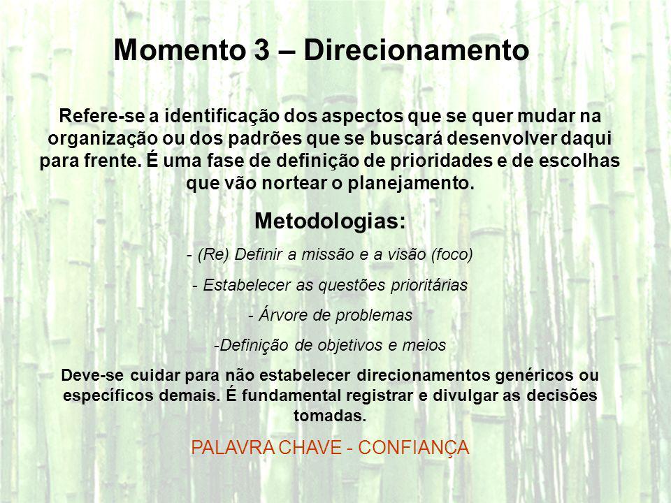 Momento 3 – Direcionamento
