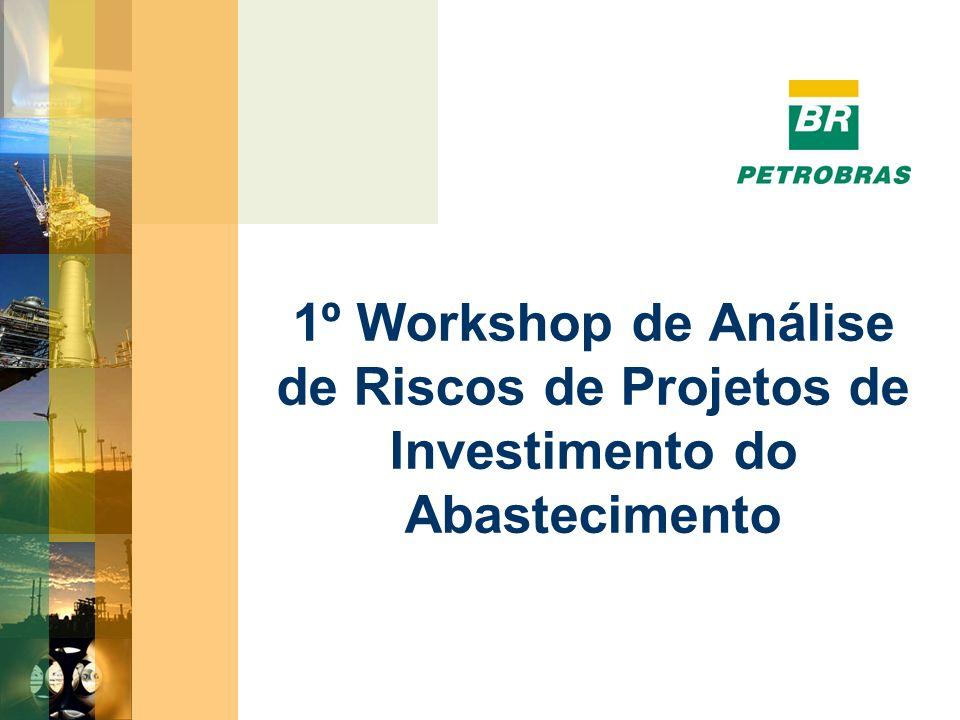 1º Workshop de Análise de Riscos de Projetos de Investimento do Abastecimento