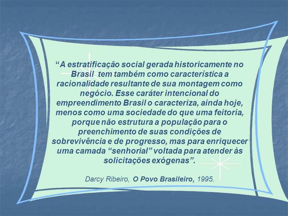 Darcy Ribeiro, O Povo Brasileiro, 1995.