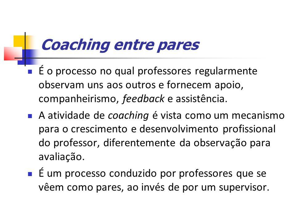 Coaching entre pares