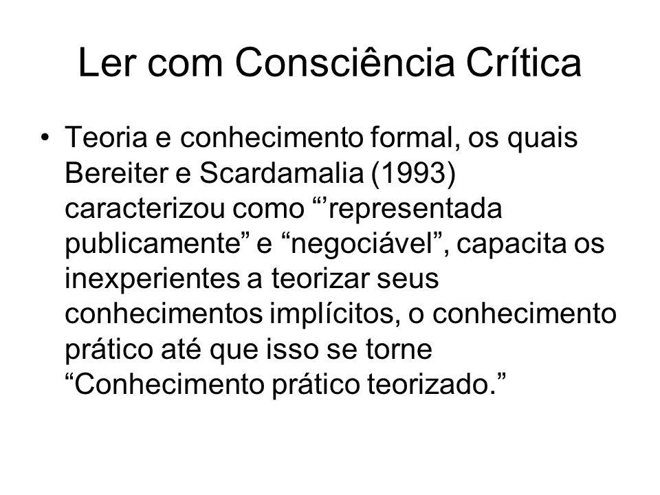 Ler com Consciência Crítica