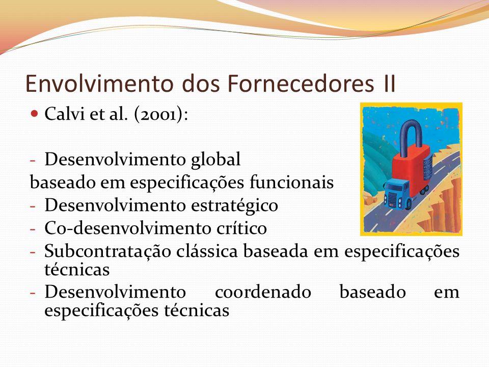 Envolvimento dos Fornecedores II