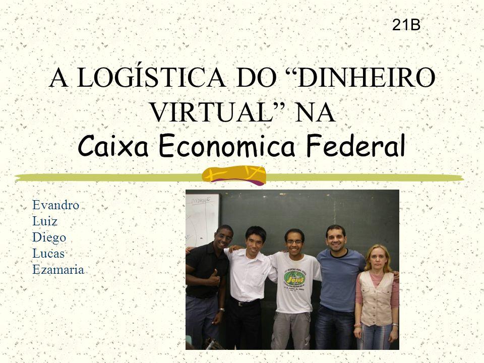 A LOGÍSTICA DO DINHEIRO VIRTUAL NA Caixa Economica Federal