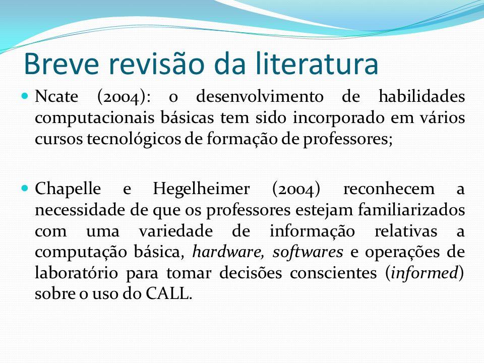 Breve revisão da literatura
