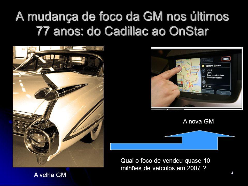 A mudança de foco da GM nos últimos 77 anos: do Cadillac ao OnStar