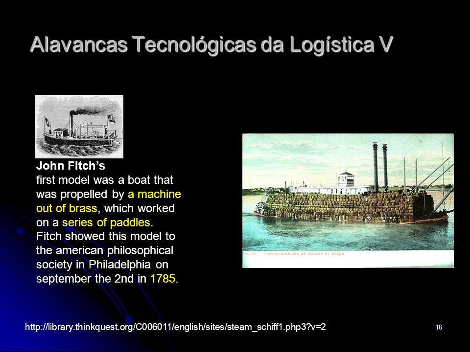 Alavancas Tecnológicas da Logística V