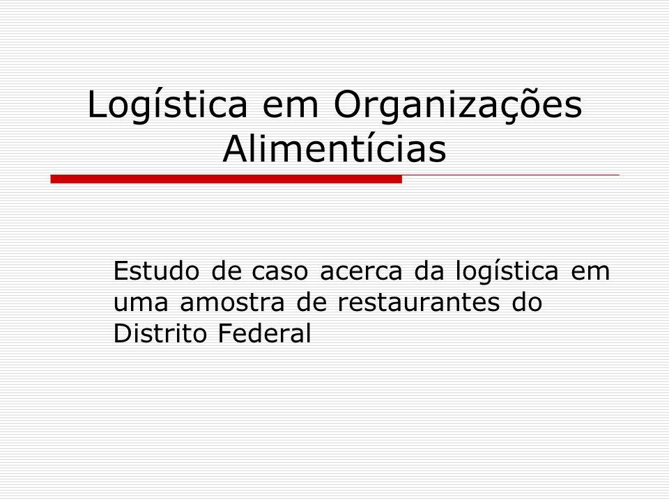 Logística em Organizações Alimentícias