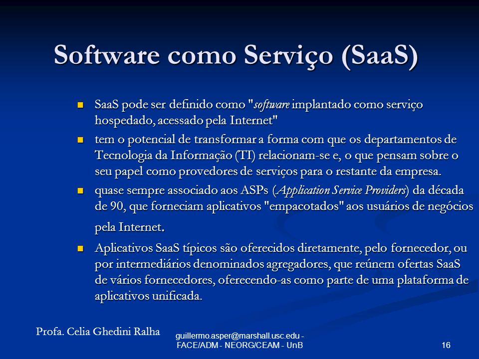 Software como Serviço (SaaS)