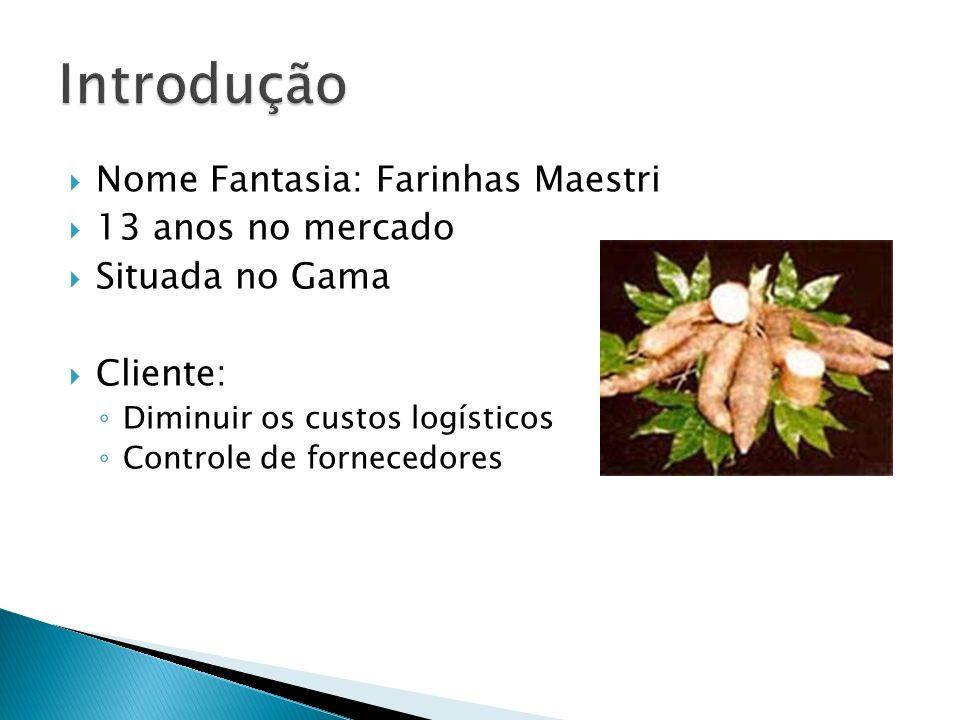 Introdução Nome Fantasia: Farinhas Maestri 13 anos no mercado