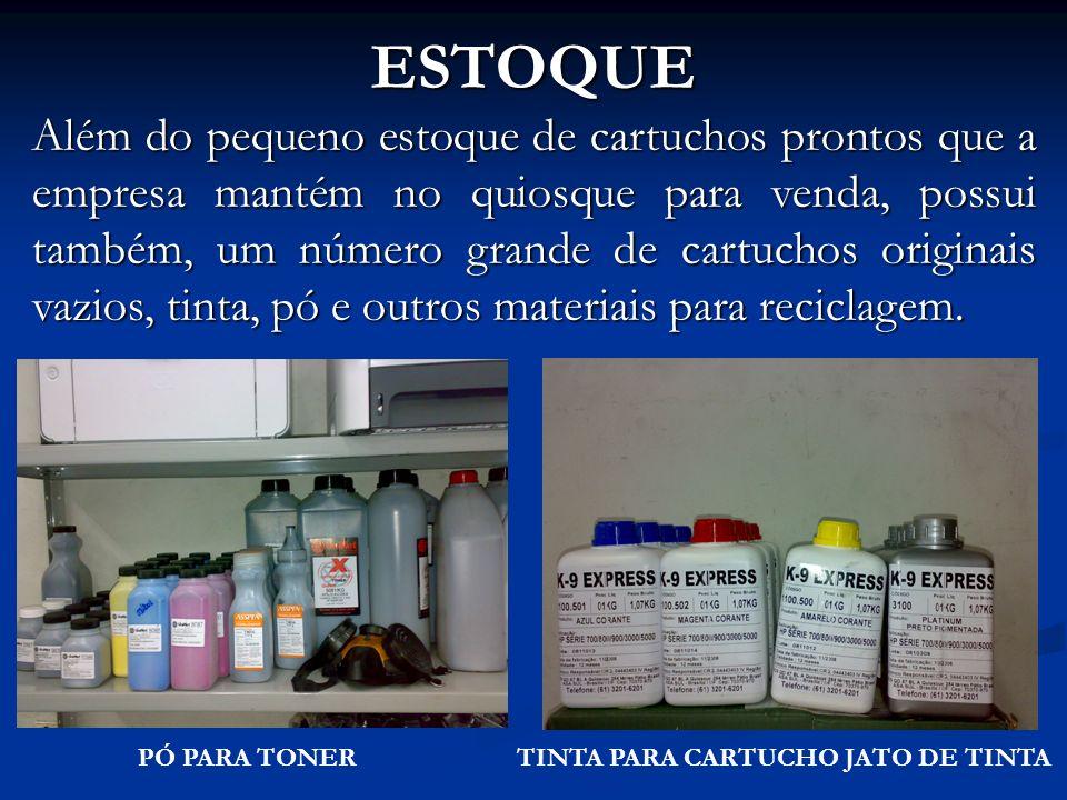 TINTA PARA CARTUCHO JATO DE TINTA