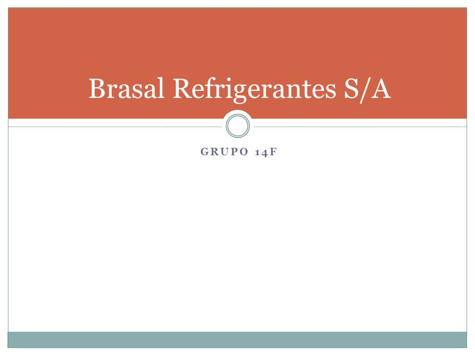 Brasal Refrigerantes S/A