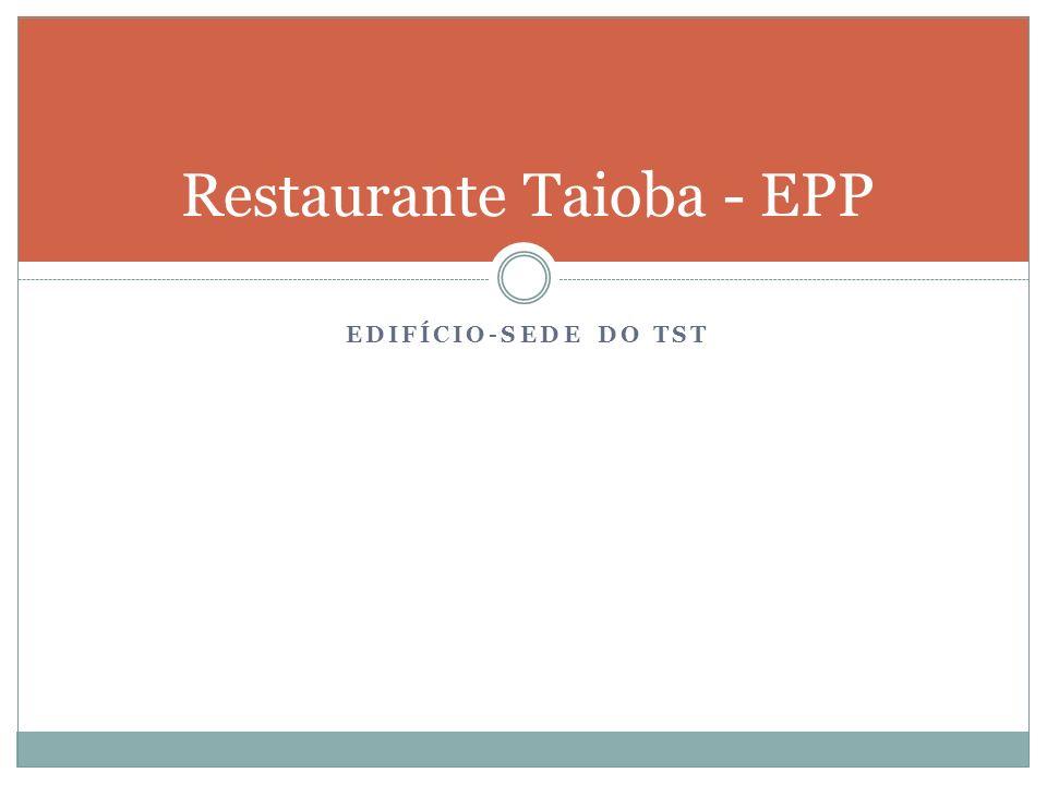 Restaurante Taioba - EPP