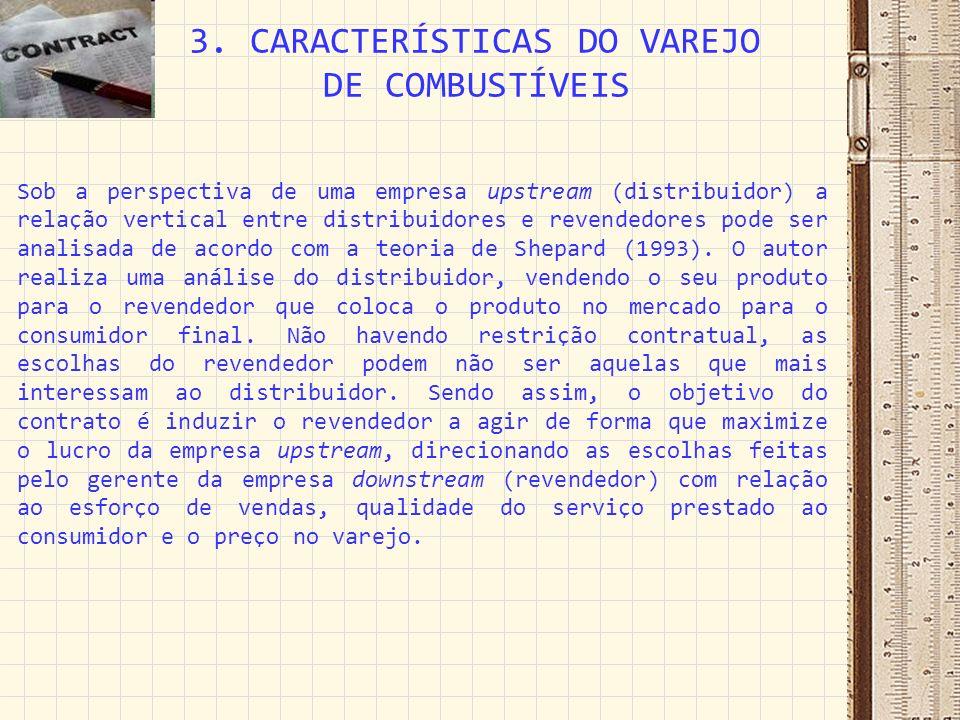 3. CARACTERÍSTICAS DO VAREJO DE COMBUSTÍVEIS