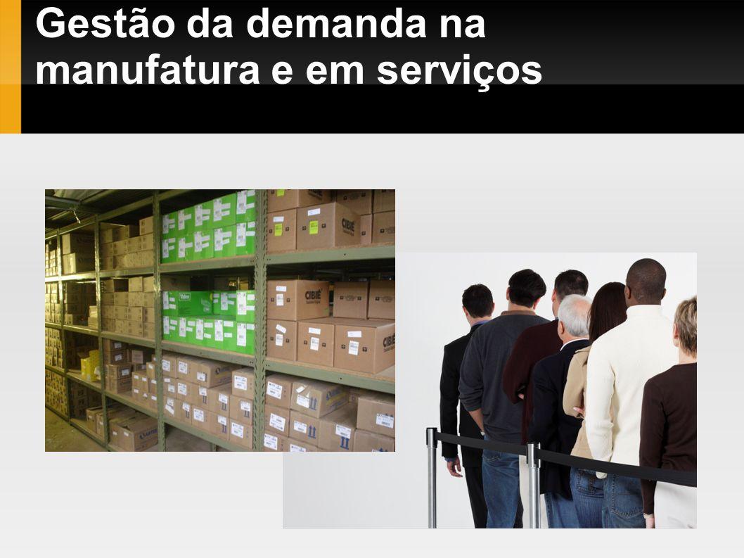 Gestão da demanda na manufatura e em serviços