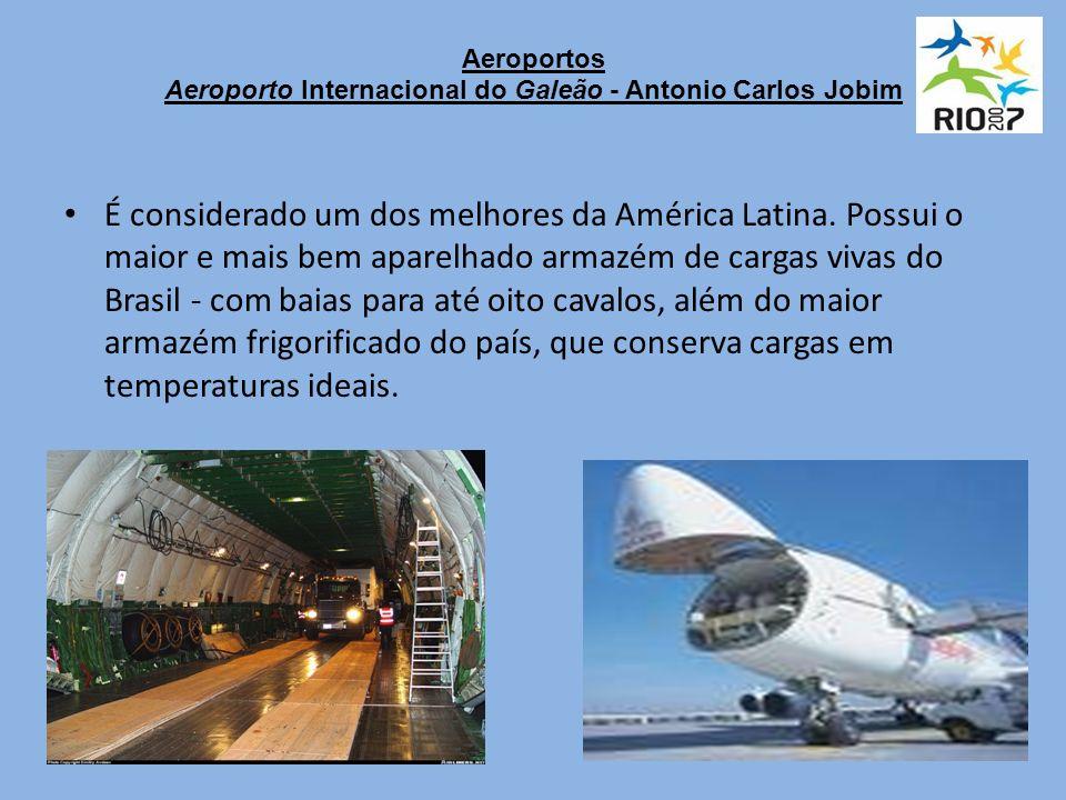 Aeroportos Aeroporto Internacional do Galeão - Antonio Carlos Jobim