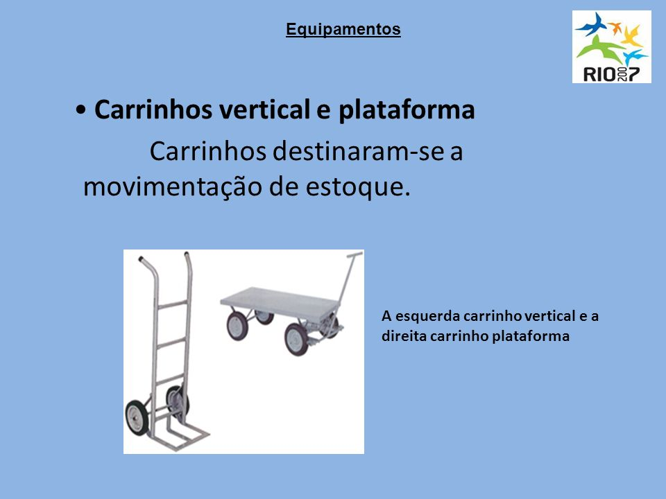 Carrinhos vertical e plataforma
