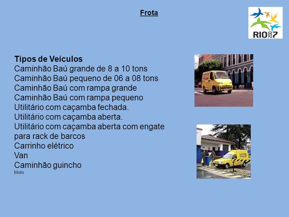 Caminhão Baú grande de 8 a 10 tons