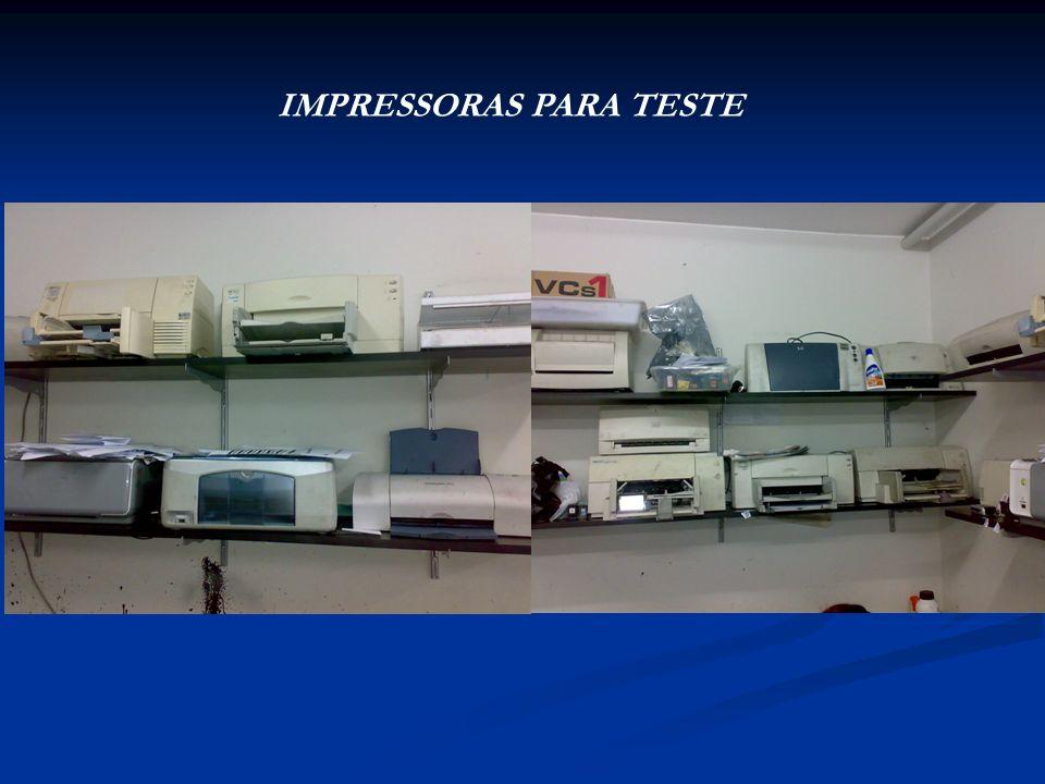 IMPRESSORAS PARA TESTE