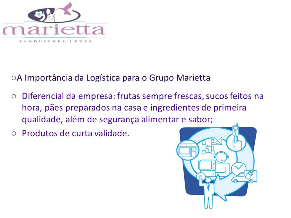 A Importância da Logística para o Grupo Marietta