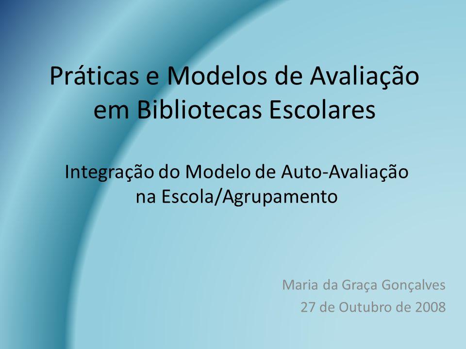 Práticas e Modelos de Avaliação em Bibliotecas Escolares