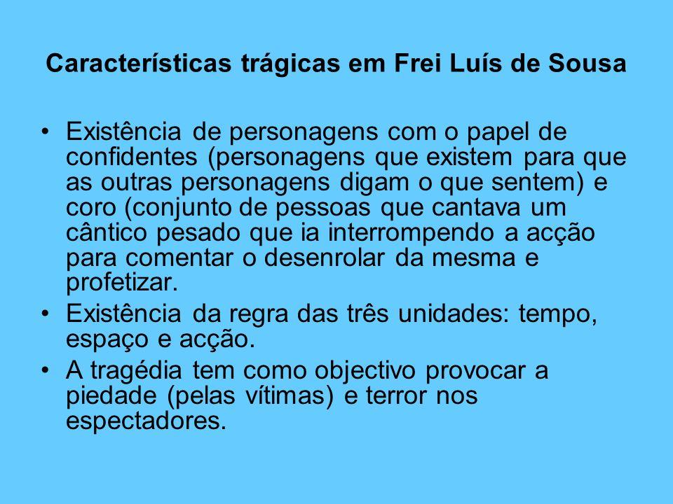 Características trágicas em Frei Luís de Sousa