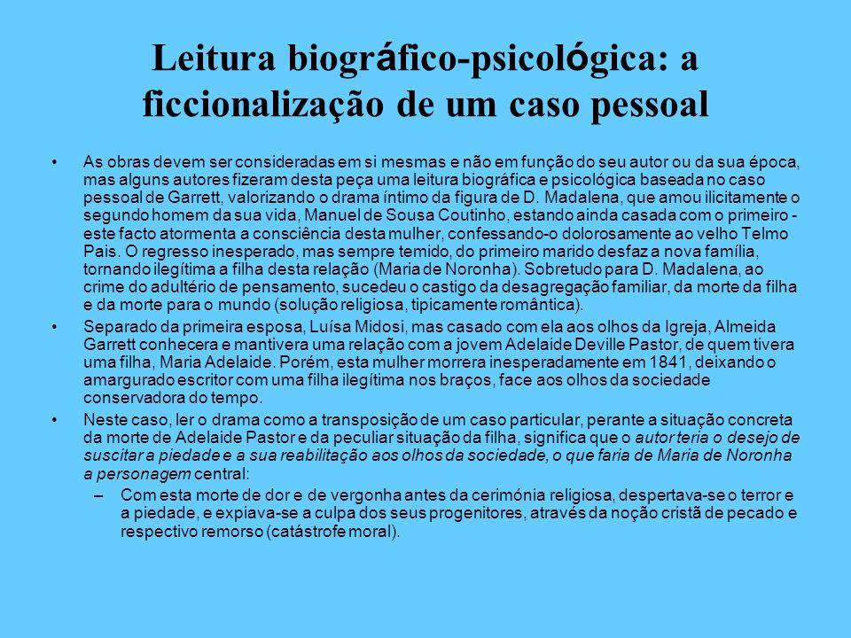 Leitura biográfico-psicológica: a ficcionalização de um caso pessoal