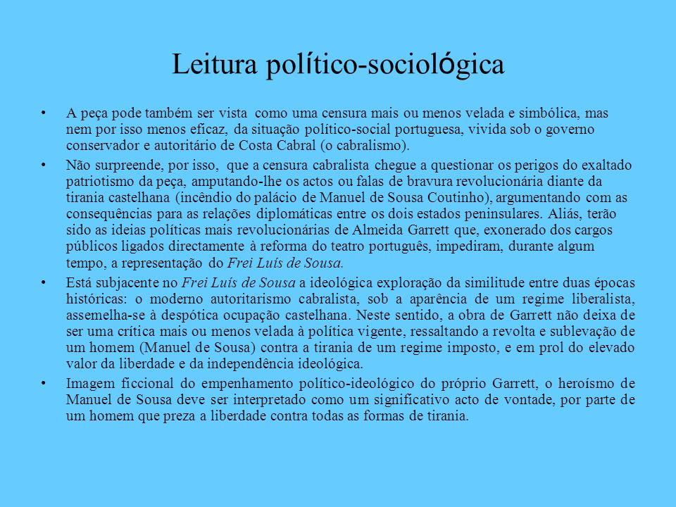 Leitura político-sociológica