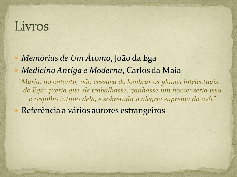 Livros Memórias de Um Átomo, João da Ega