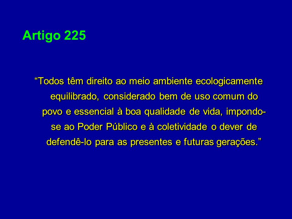 Artigo 225