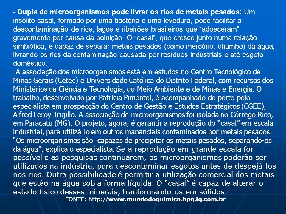 FONTE: http://www.mundodoquimico.hpg.ig.com.br