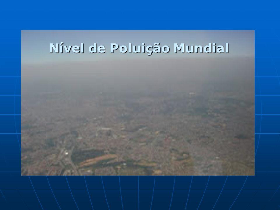 Nível de Poluição Mundial