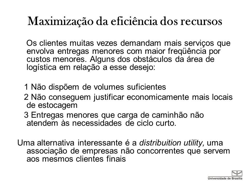 Maximização da eficiência dos recursos