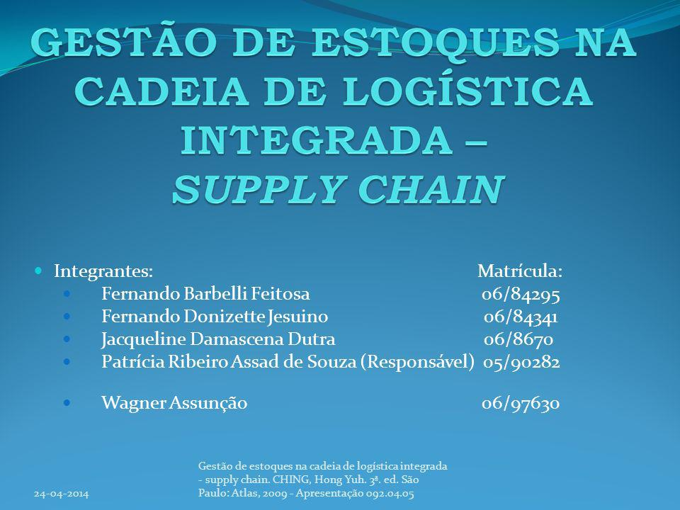 Integrantes: Matrícula: Fernando Barbelli Feitosa 06/84295
