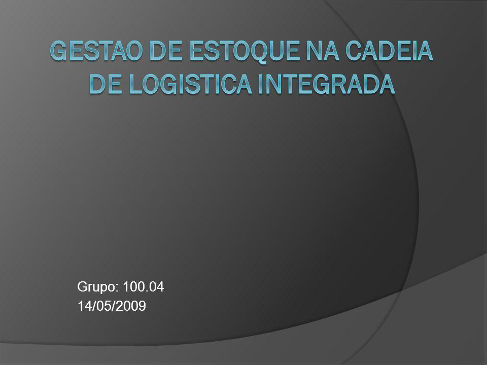 GESTAO DE ESTOQUE NA CADEIA DE LOGISTICA INTEGRADA