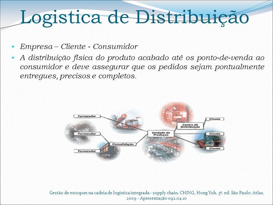 Logistica de Distribuição