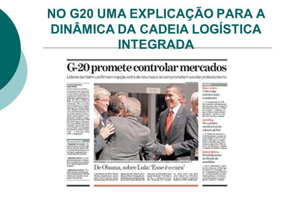NO G20 UMA EXPLICAÇÃO PARA A DINÂMICA DA CADEIA LOGÍSTICA INTEGRADA